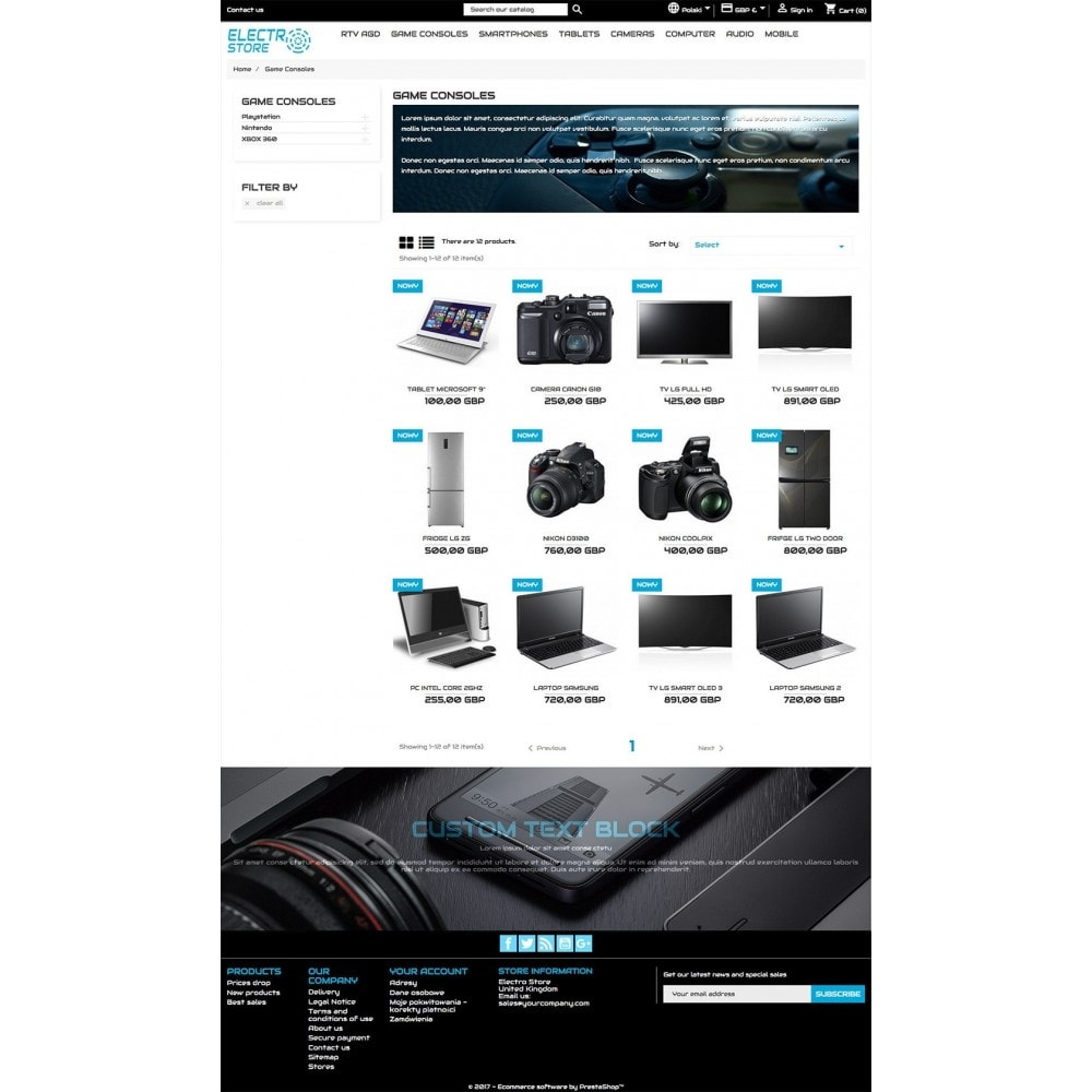theme - Elektronika & High Tech - Electro Store - 5