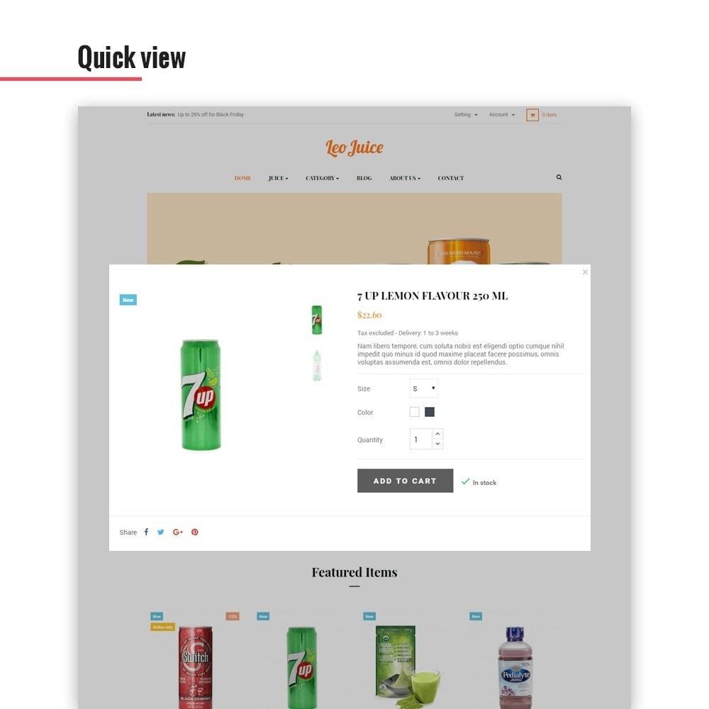 theme - Bebidas y Tabaco - Leo Juice - 6