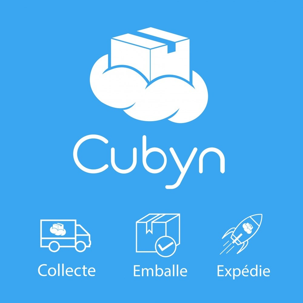 module - Zarządzanie zapasami &  Dostawcy - Cubyn - Collects, packs and ships your products for 1 € - 1