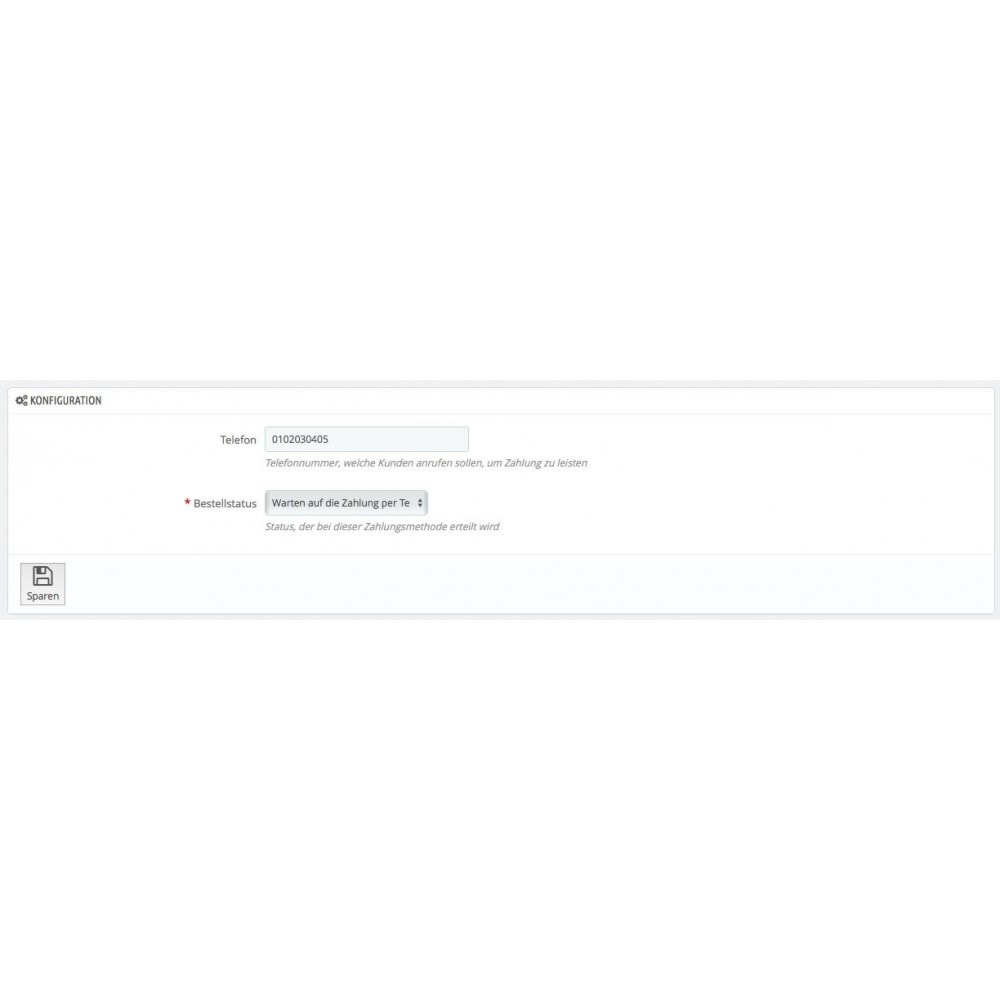 module - Andere Zahlungsmethoden - Bezahlung per Telefon - 3