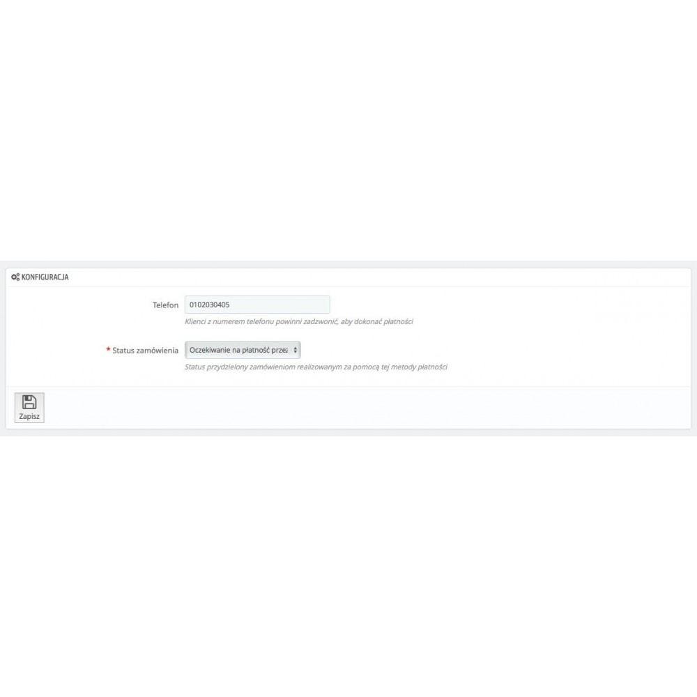 module - Inne środki płatności - Płać przez telefon - 3
