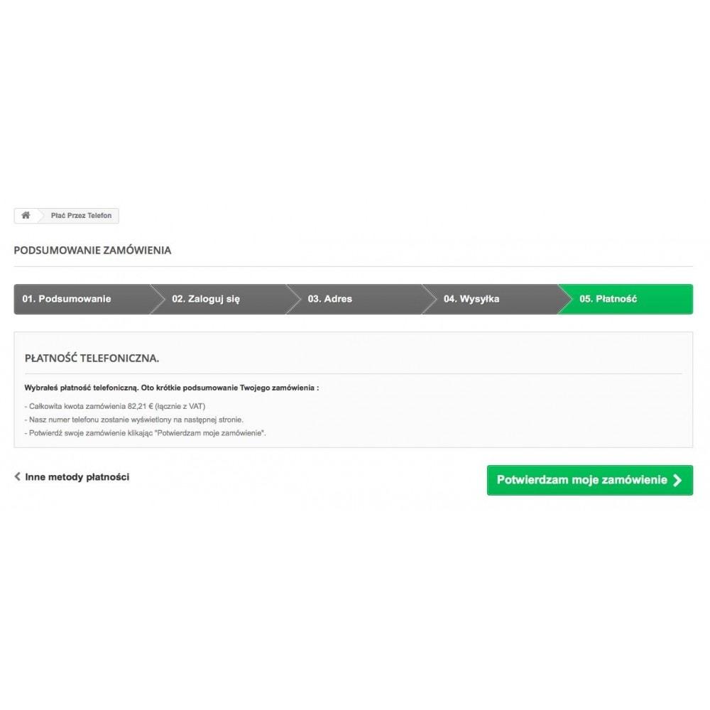 module - Inne środki płatności - Płać przez telefon - 4