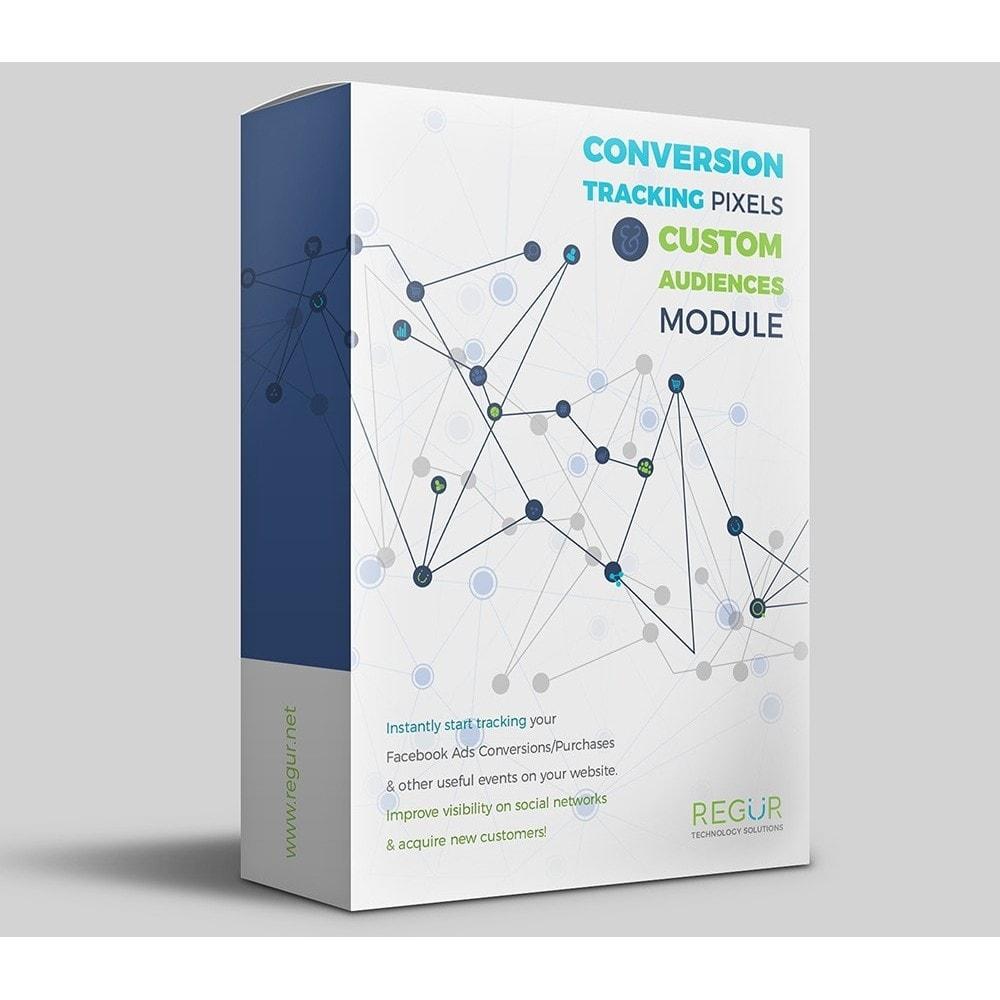 module - Informes y Estadísticas - Conversion Tracking Pixels and Custom Audiences - 1