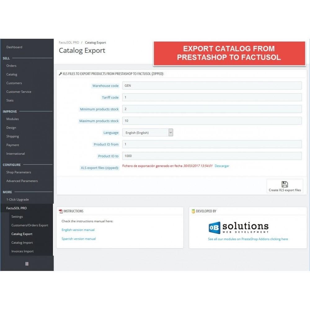 module - Integracja z programami stron trzecich (CRM, ERP...) - Professional FactuSOL Connector - 7