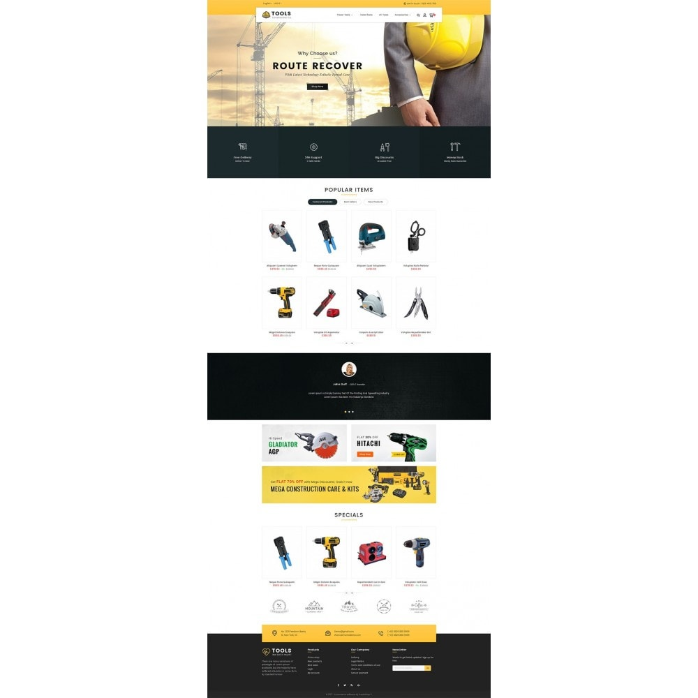 theme - Dom & Ogród - Construction Tools Store - 2