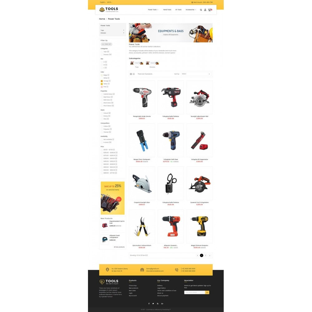 theme - Dom & Ogród - Construction Tools Store - 3
