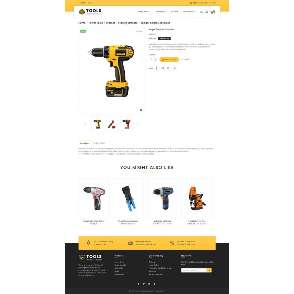 theme - Dom & Ogród - Construction Tools Store - 5