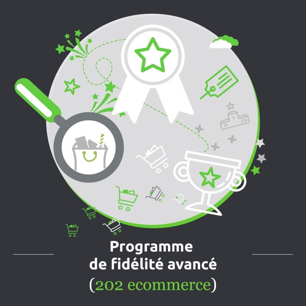 module - Fidélisation & Parrainage - Programme de fidélité avancé / loyalty points - 1