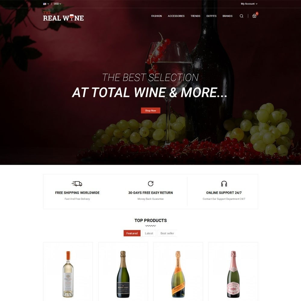 theme - Drink & Tobacco - The Real Wine Store - 2