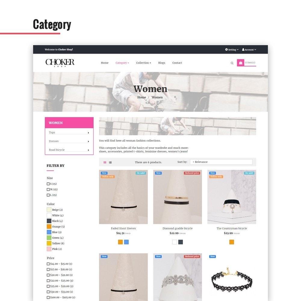 theme - Biżuteria & Akcesoria - Leo Choker - 2