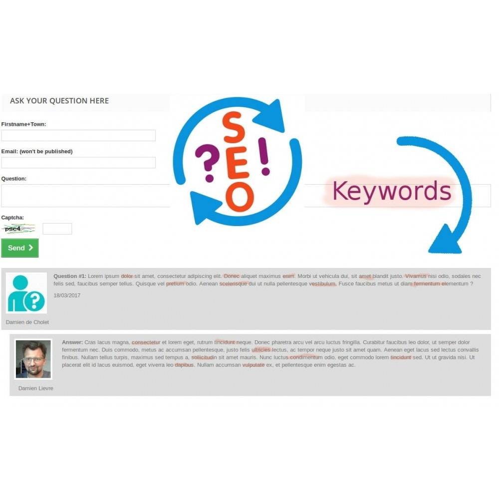module - SEO (Pozycjonowanie naturalne) - Multipage Questions & Answers for SEO - 1