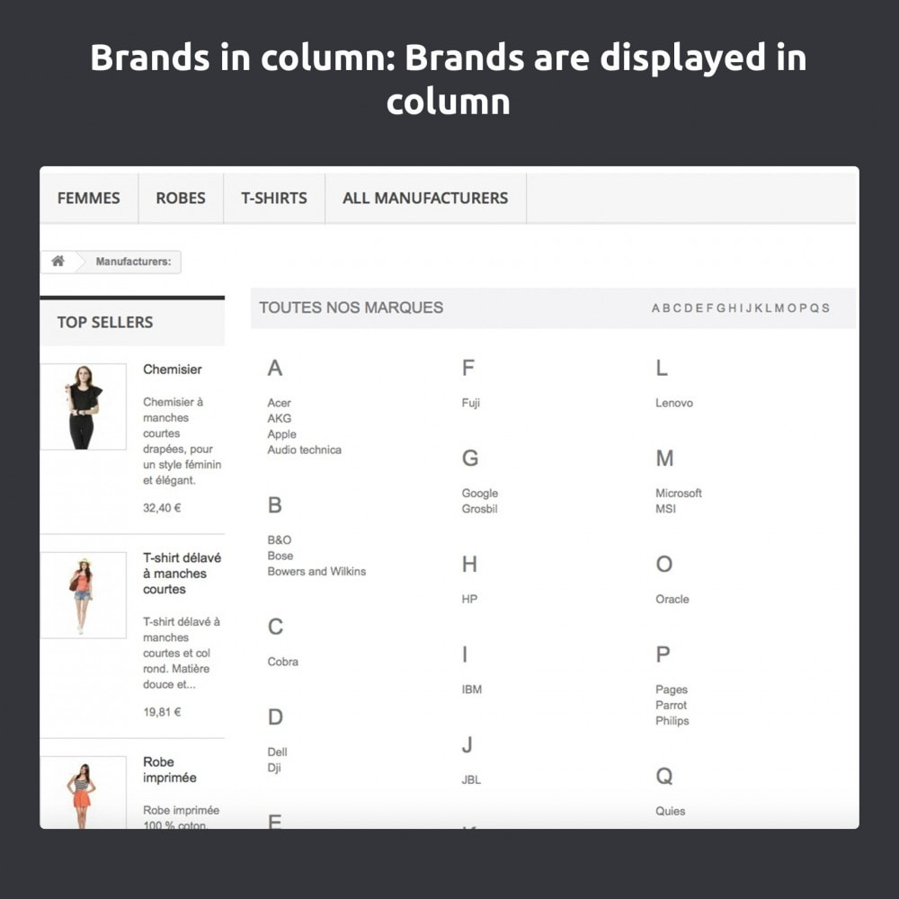 module - Marcas & Fabricantes - Change And Improve The Brands / Manufacturers Page - 7