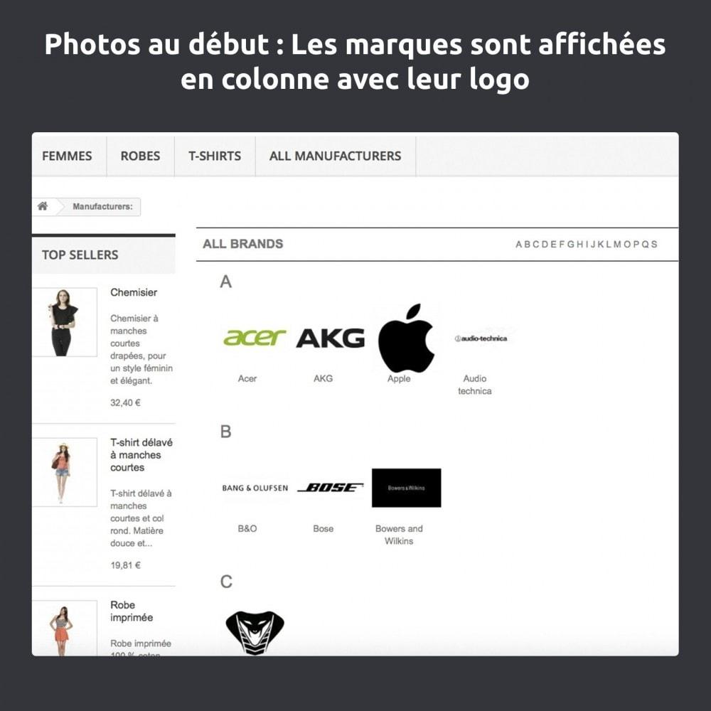 module - Marques & Fabricants - Modifier et améliorer la page marques / fabricants - 6