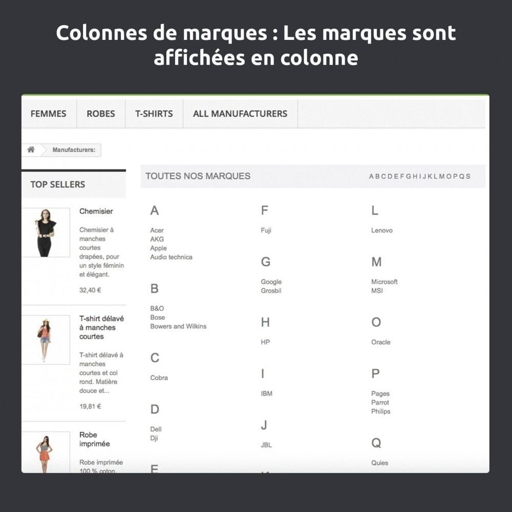 module - Marques & Fabricants - Modifier et améliorer la page marques / fabricants - 7