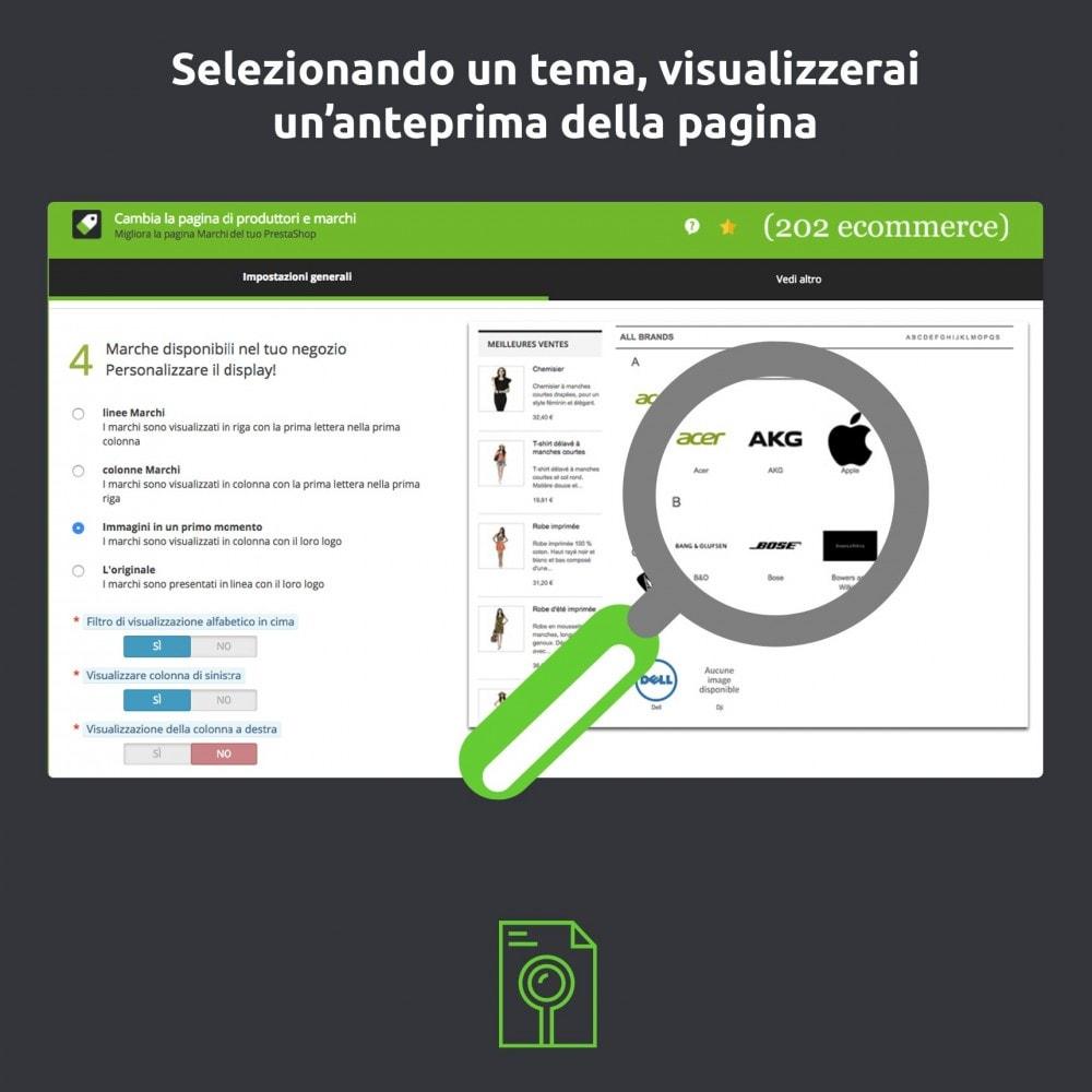 module - Marche & Produttori - Cambia e migliora della pagina produttore/marchio - 3