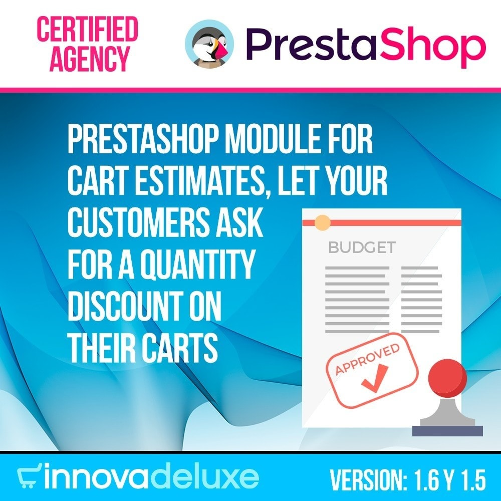 module - Offertes - Request of budgets (estimate) from the cart - 1