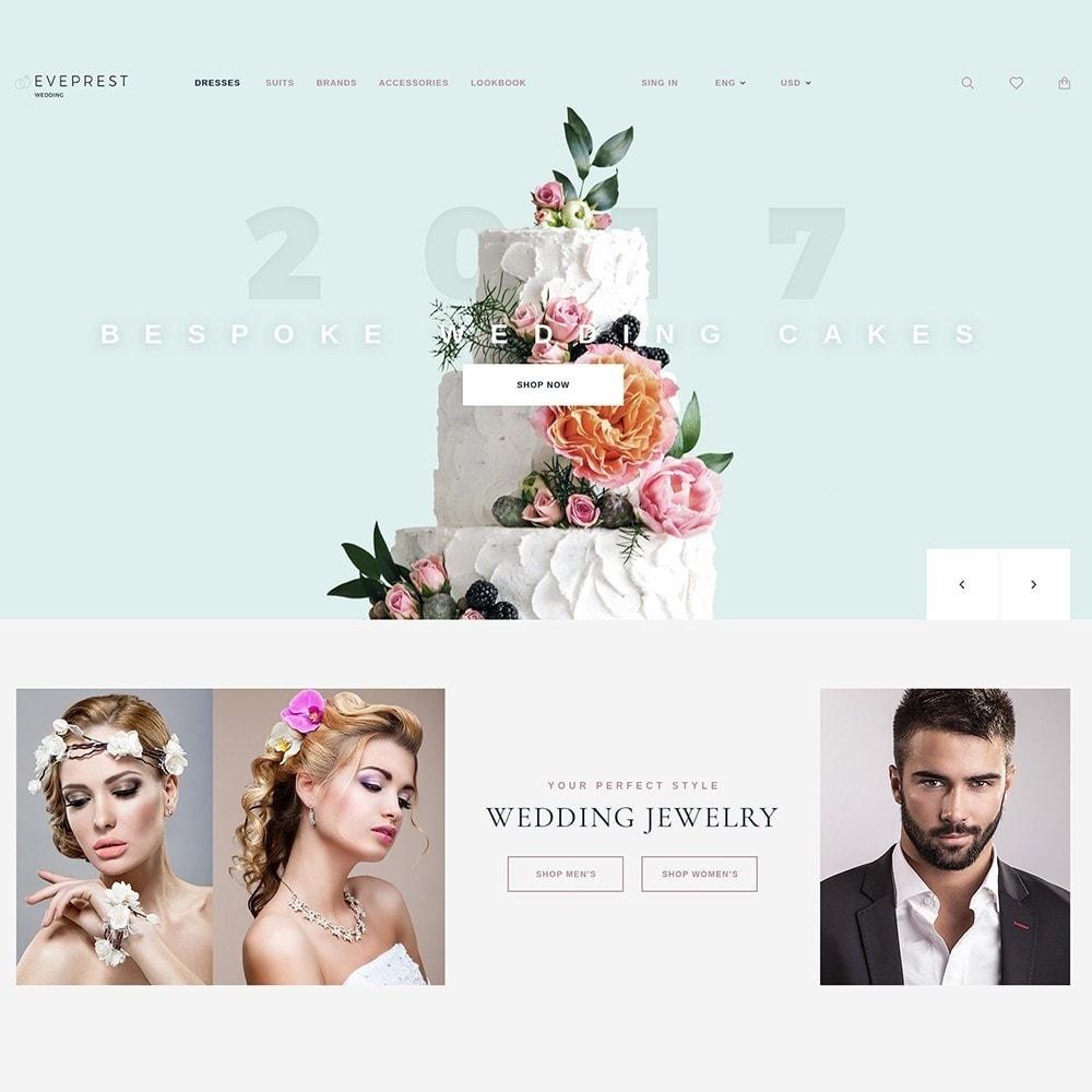 theme - Подарки, Цветы и праздничные товары - EvePrest Wedding - Wedding Online Store - 2