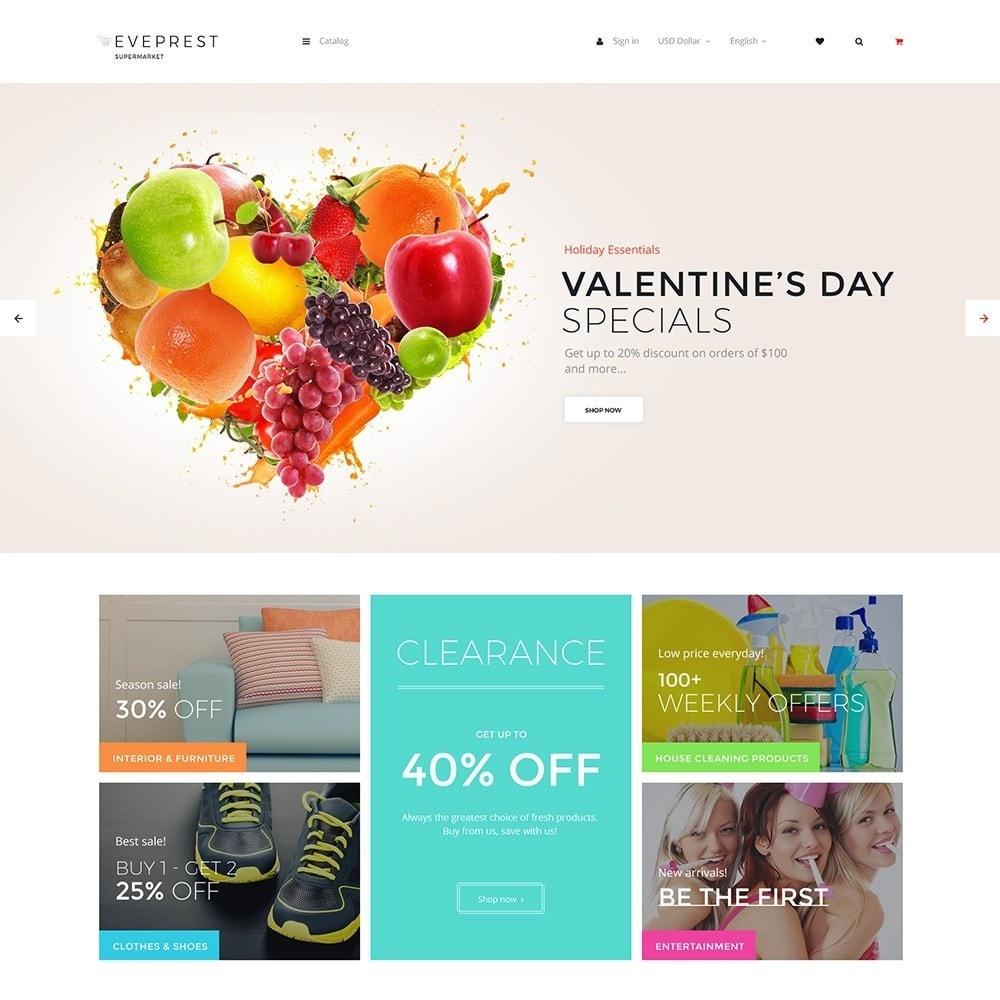 theme - Cibo & Ristorazione - EvePrest Supermarket - Supermarket Online Store - 1