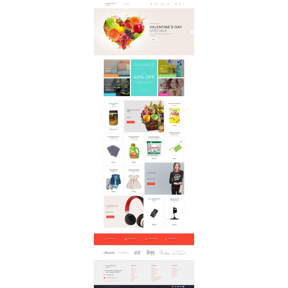 theme - Продовольствие и рестораны - EvePrest Supermarket - Supermarket Online Store - 3