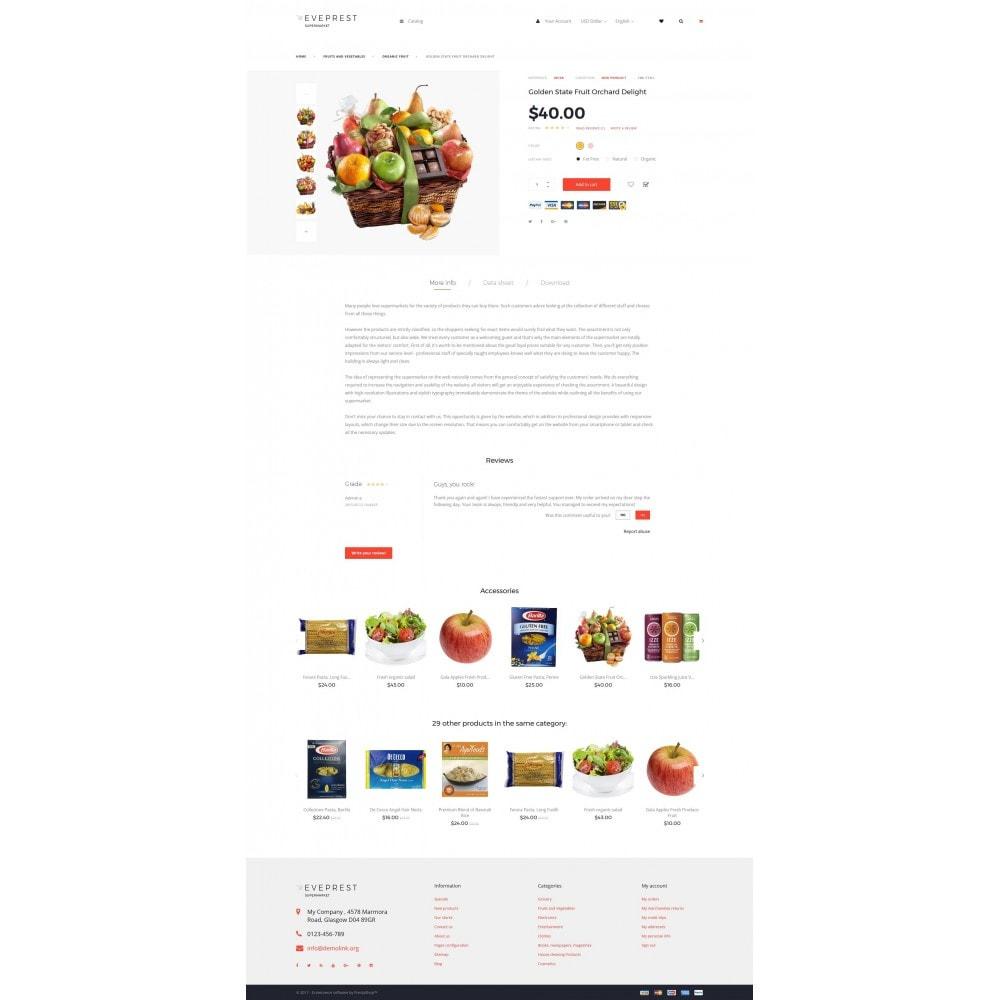 theme - Żywność & Restauracje - EvePrest Supermarket - Supermarket Online Store - 4