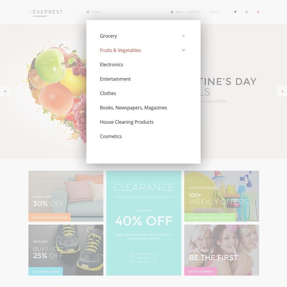 theme - Cibo & Ristorazione - EvePrest Supermarket - Supermarket Online Store - 6