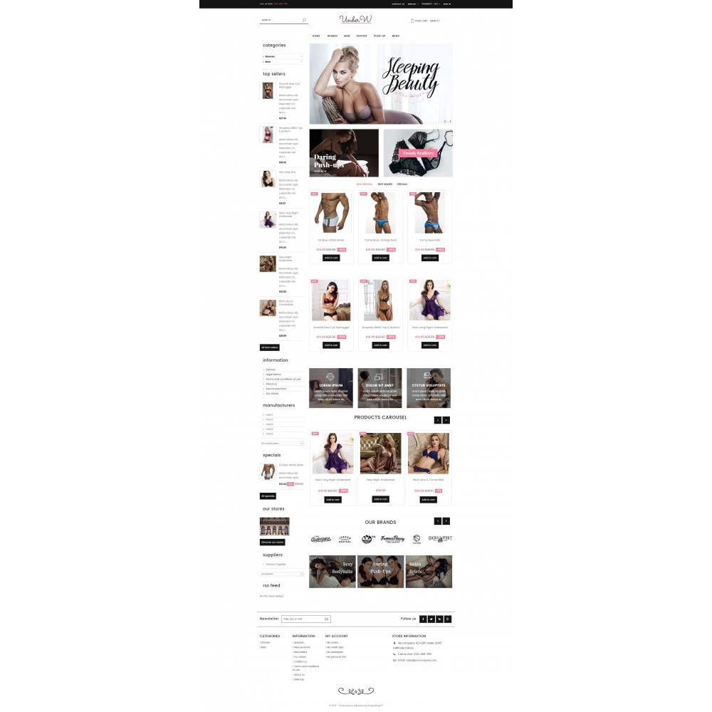 theme - Lingerie & Adulti - Underwear - 2