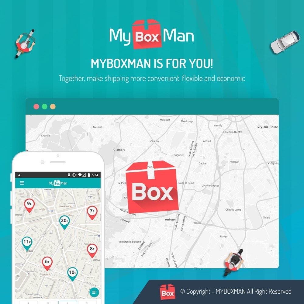 module - Kurierzy - MyBoxMan - Express local deliveries 7/7 - 1