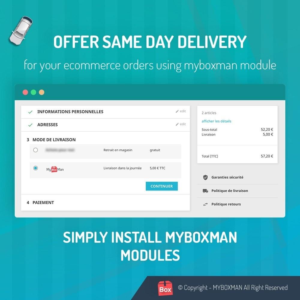 module - Kurierzy - MyBoxMan - Express local deliveries 7/7 - 2