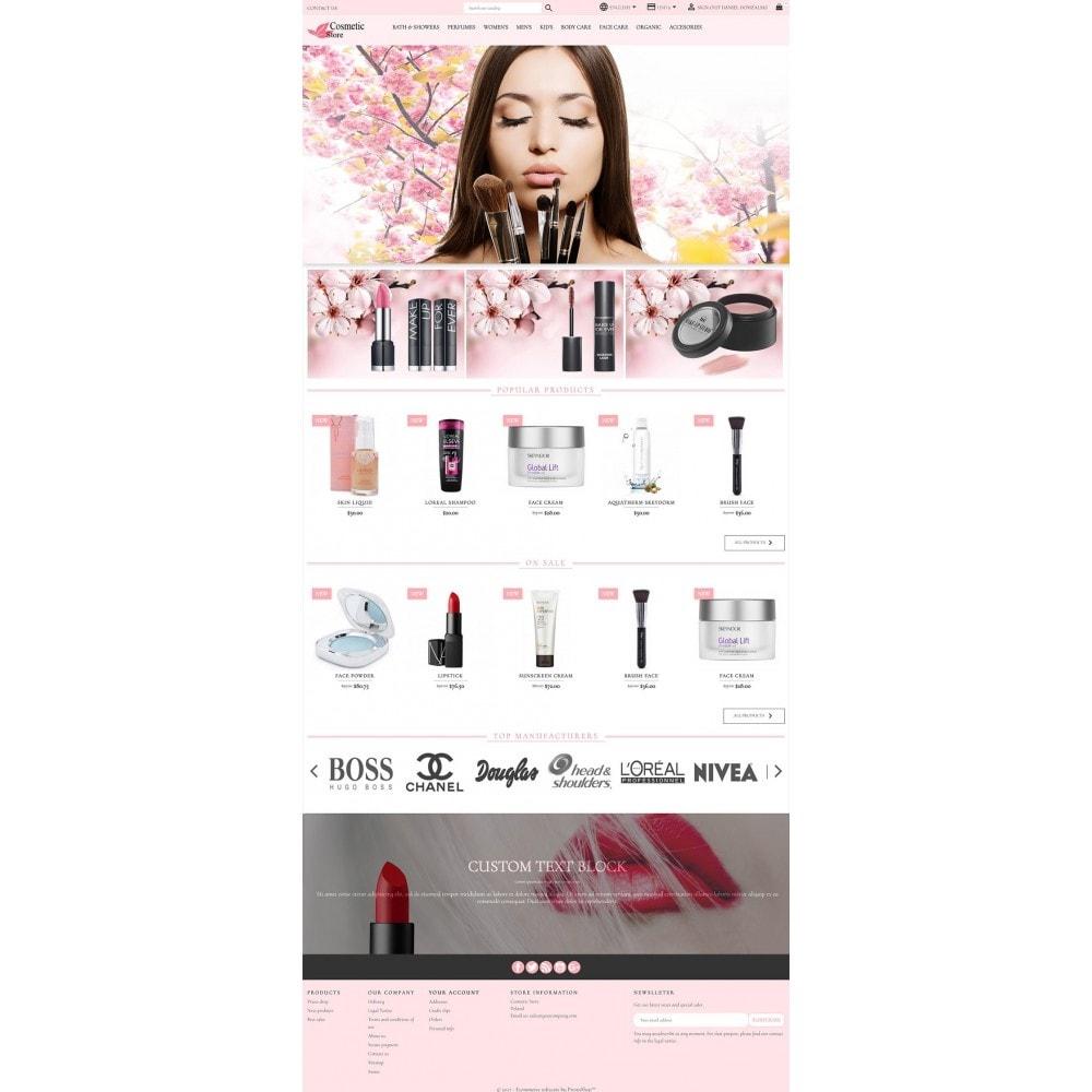 theme - Здоровье и красота - Cosmetic Store - 2