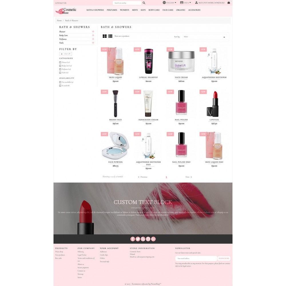 theme - Здоровье и красота - Cosmetic Store - 4