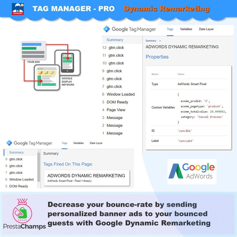 module - Analyses & Statistieken - Advance Google Tag Manager - PRO - 5
