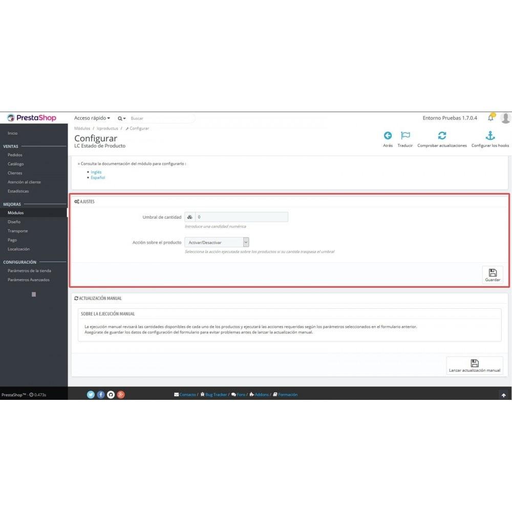 module - Fast & Mass Update - LC Product Status - 6