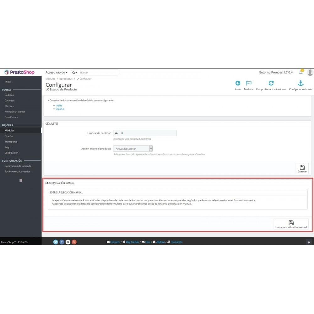 module - Modifica rapida & di massa - LC Product Status - 7