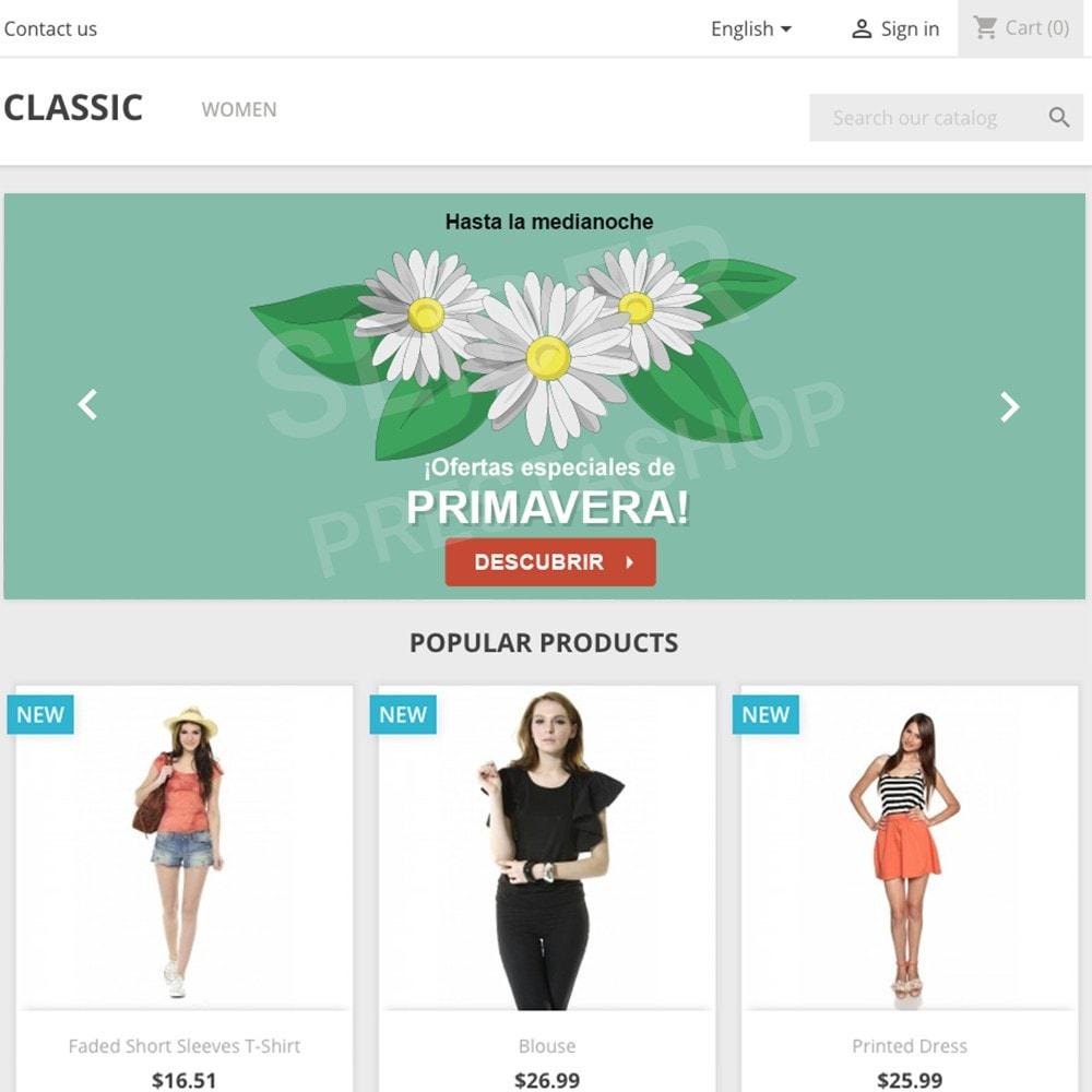 other - Material Visual para promociones online - 5 Imágenes promocionales - Primavera - 1.7 - 2