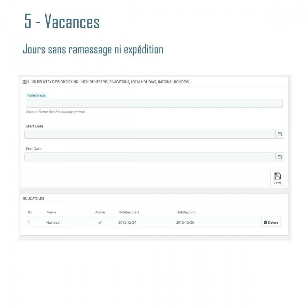 module - Date de livraison - Livraison Estimée - Smart Modules - 7