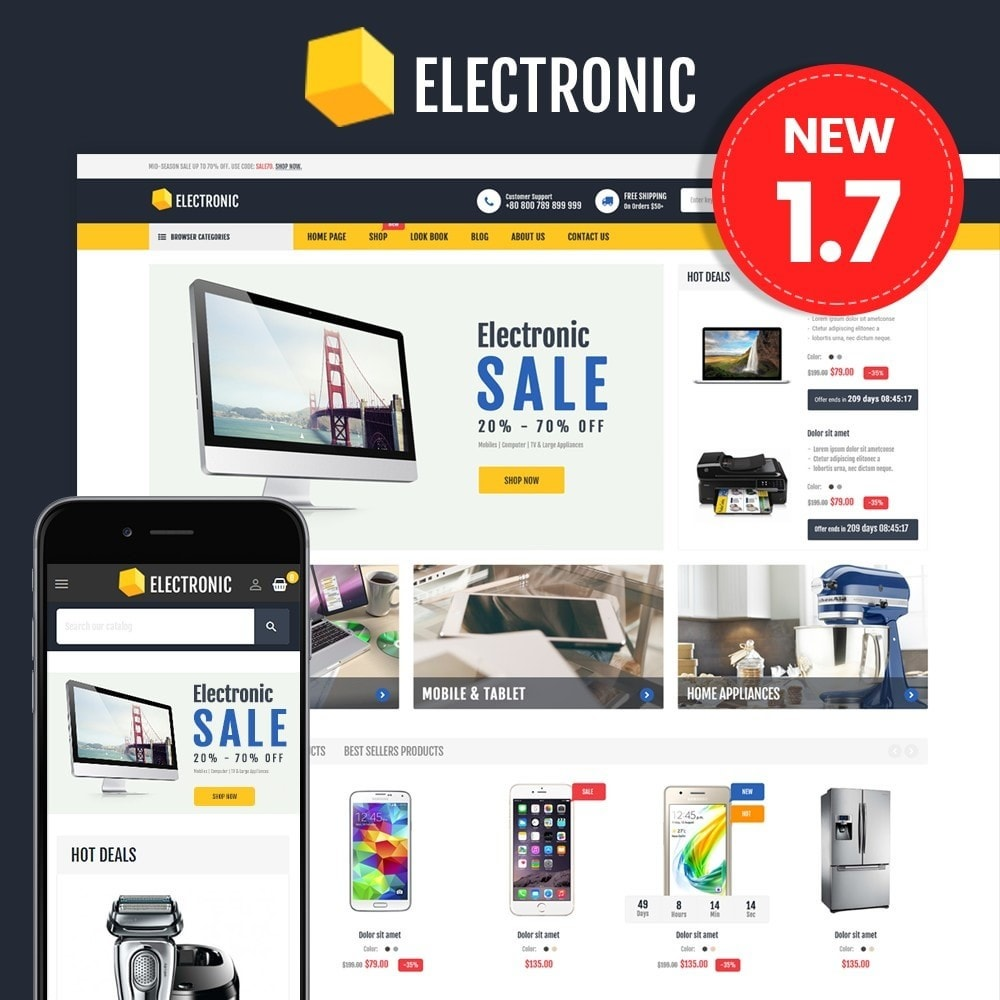 theme - Elektronica & High Tech - Electronics Store - 1