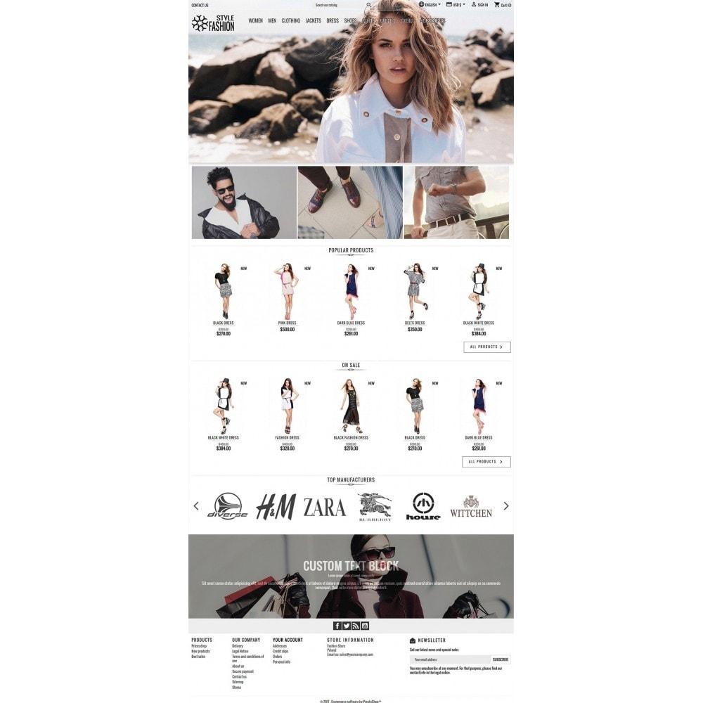 theme - Fashion & Shoes - Classic Style Fashion - 2