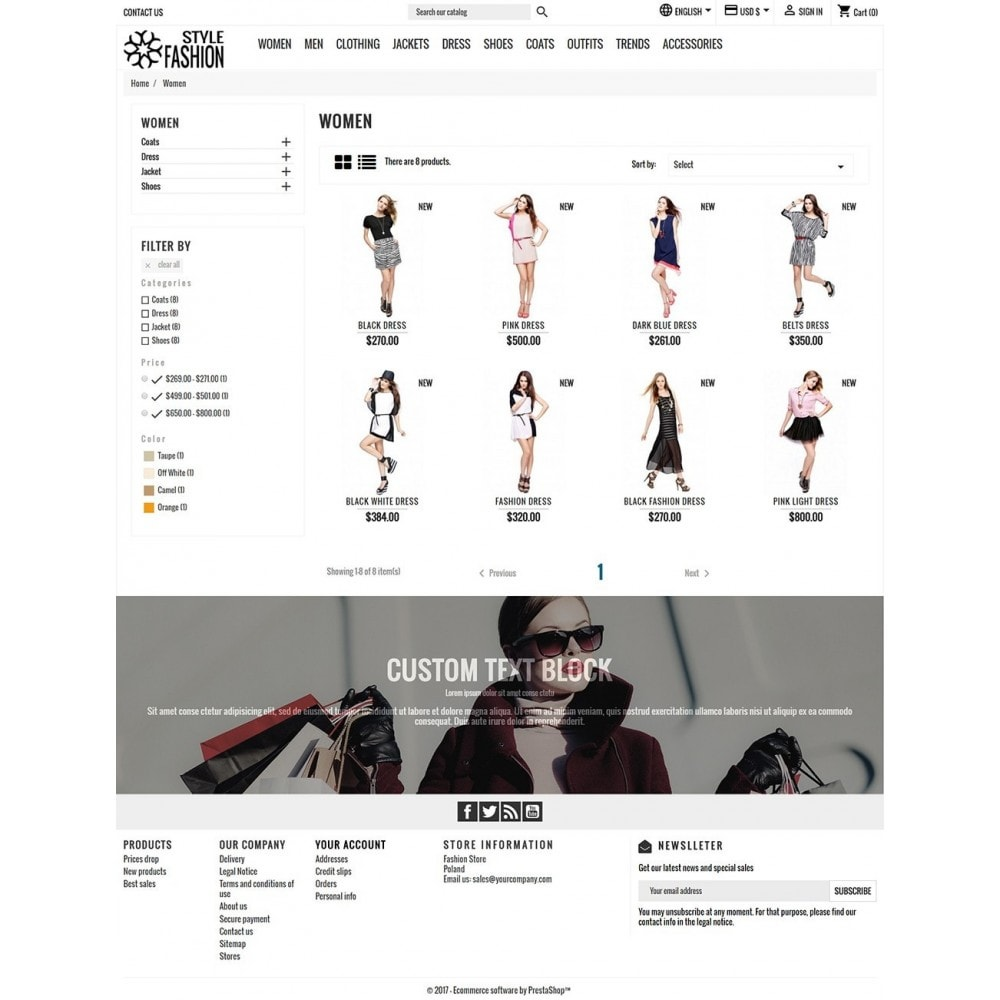 theme - Fashion & Shoes - Classic Style Fashion - 4
