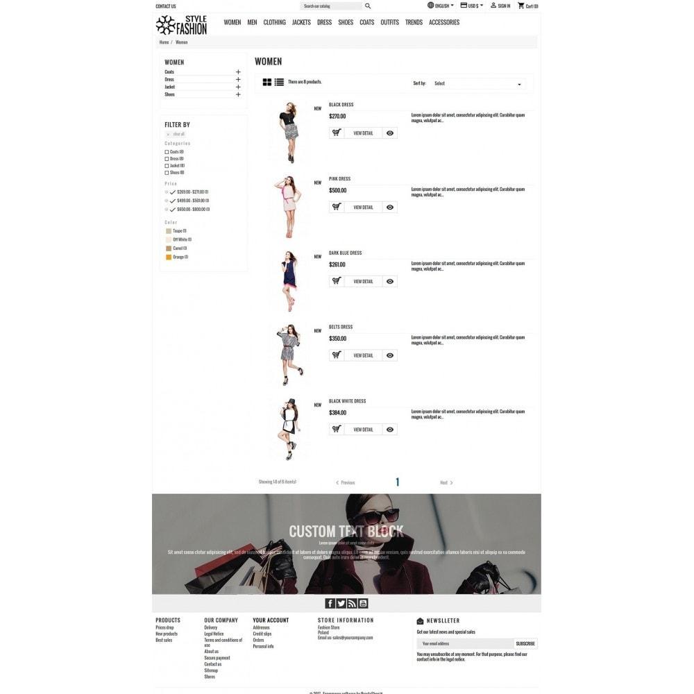 theme - Fashion & Shoes - Classic Style Fashion - 5