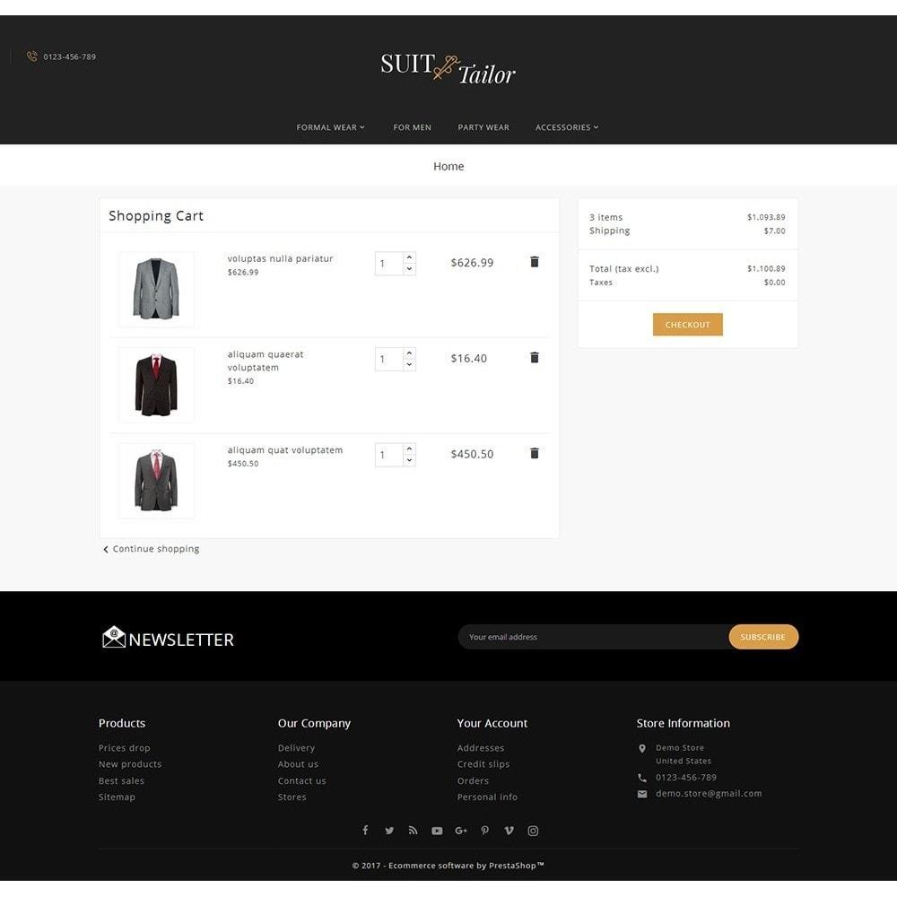 theme - Moda & Calçados - Suit/Tailor Store - 6