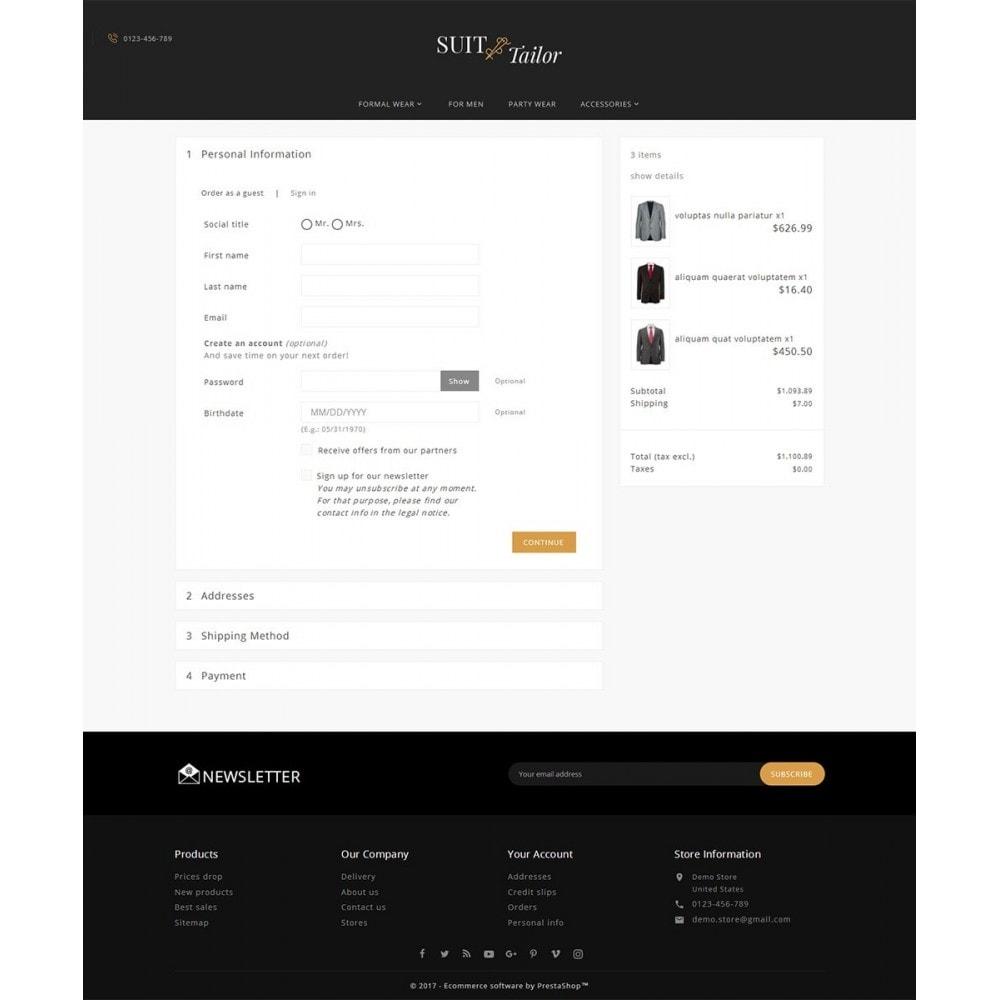 theme - Moda & Calçados - Suit/Tailor Store - 7