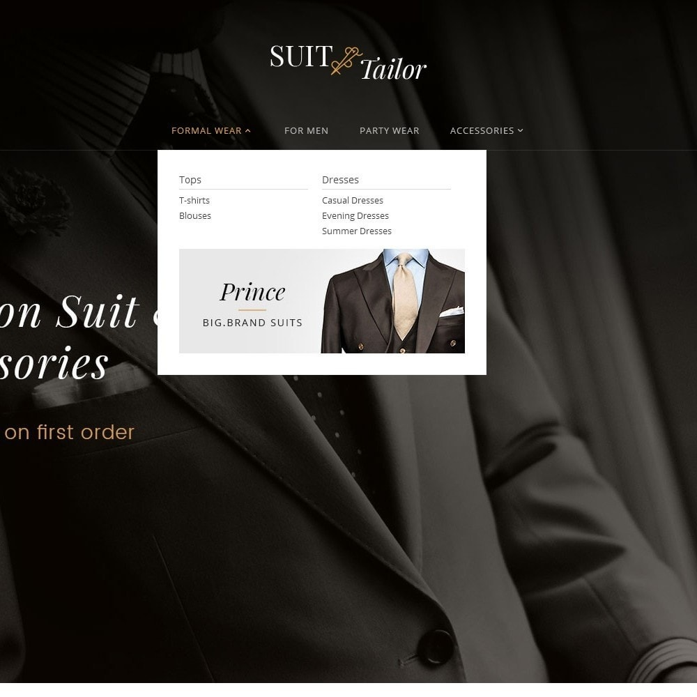 theme - Moda & Calçados - Suit/Tailor Store - 9