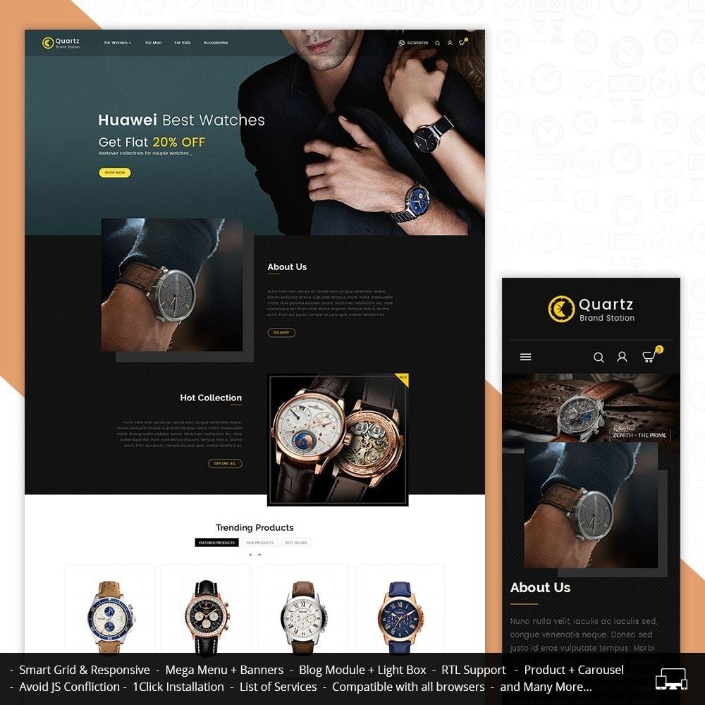 theme - Joalheria & Acessórios - Quartz Watch Store - 1