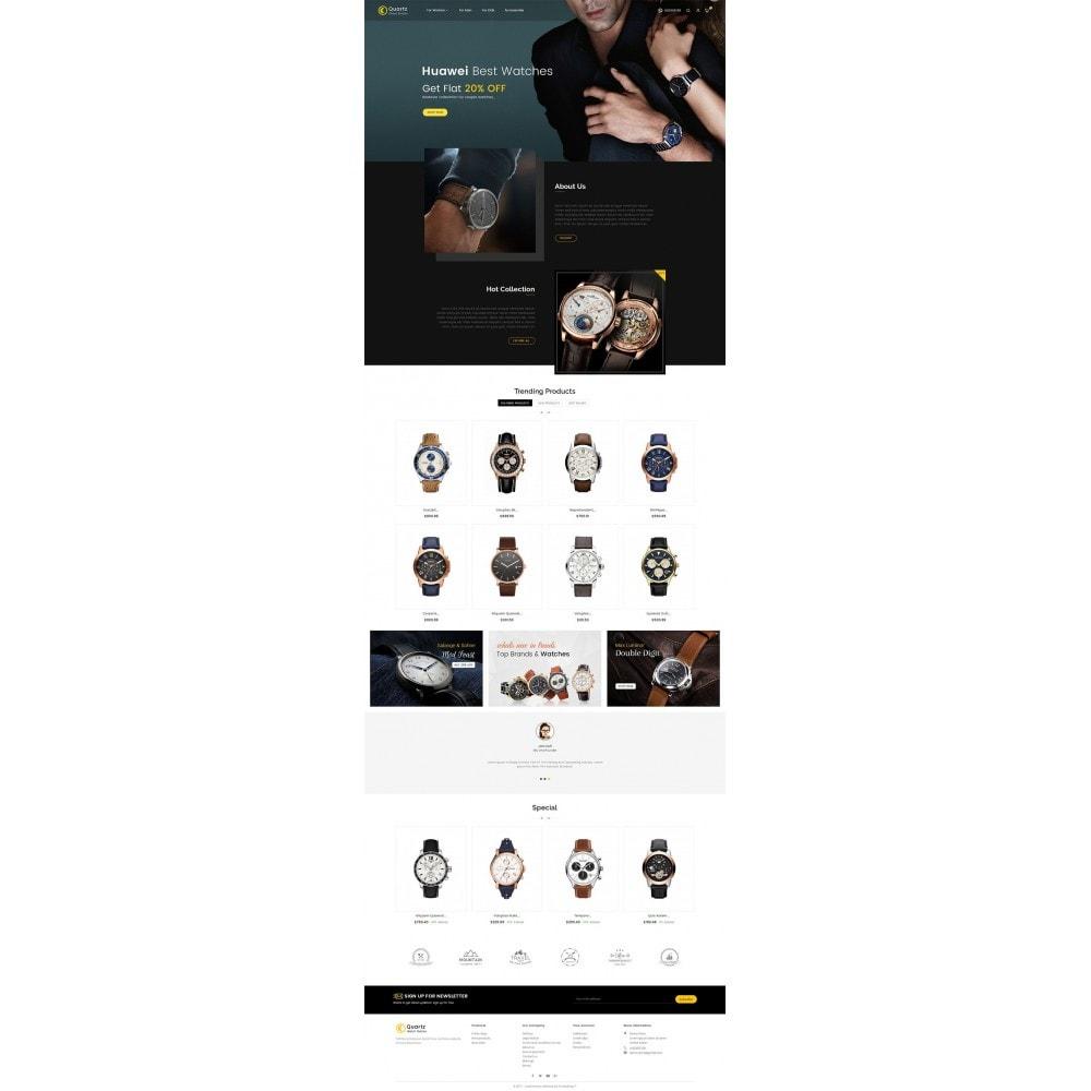 theme - Joalheria & Acessórios - Quartz Watch Store - 2