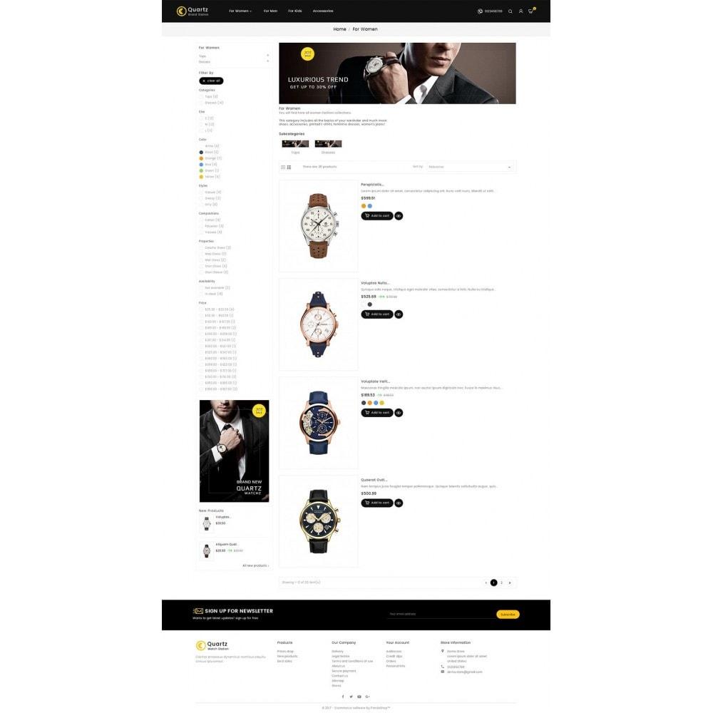 theme - Biżuteria & Akcesoria - Quartz Watch Store - 4