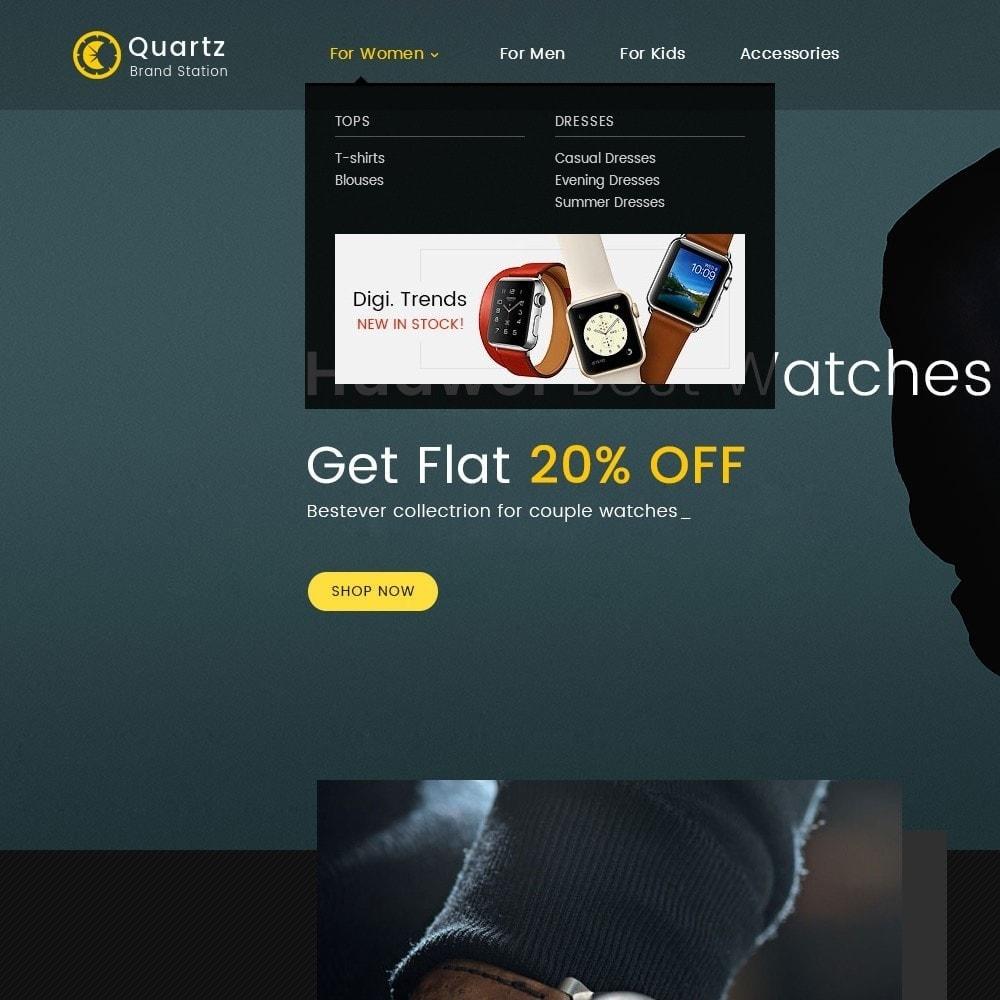 theme - Joalheria & Acessórios - Quartz Watch Store - 9