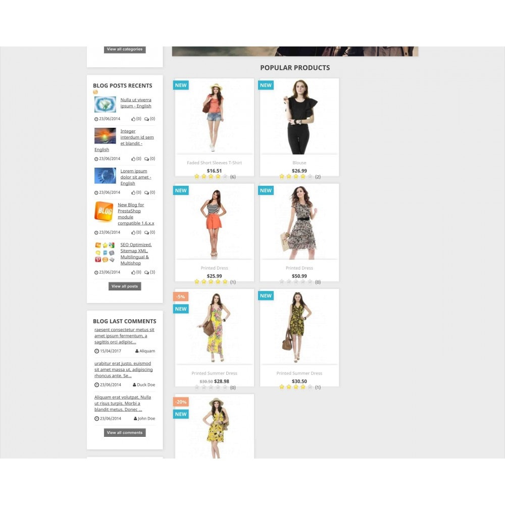 module - Blog, Fórum & Notícias - Content Pack (10 in 1) - 5