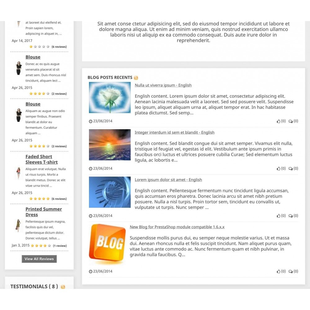 module - Blog, Forum & News - Content Pack (10 in 1) - 6