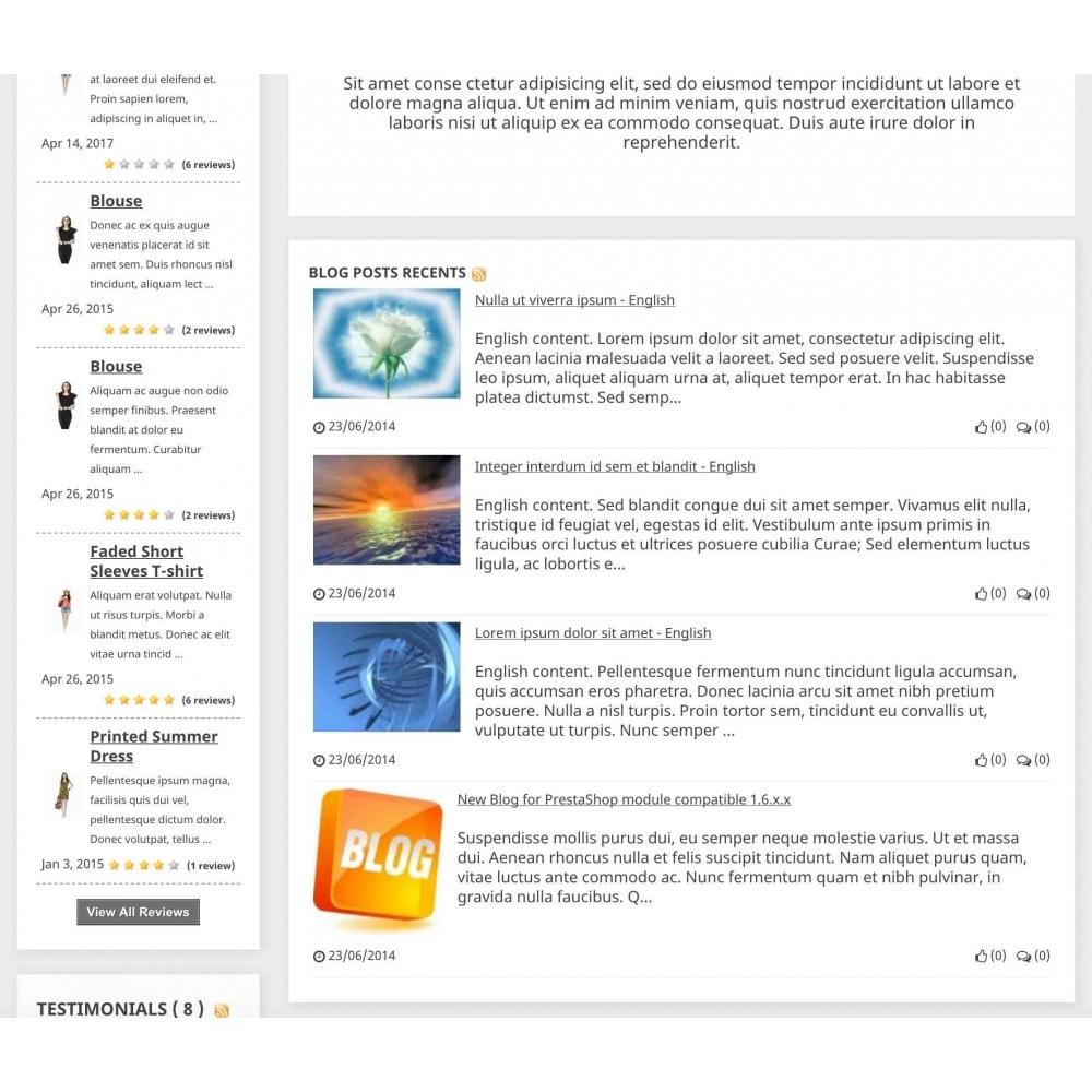 module - Blog, Fórum & Notícias - Content Pack (10 in 1) - 6