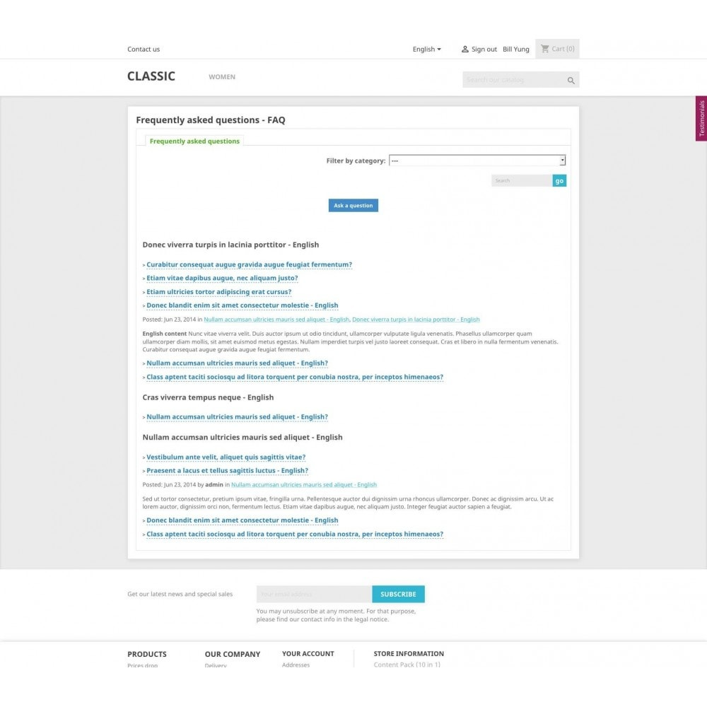 module - Blog, Foro y Noticias - Content Pack (10 in 1) - 18